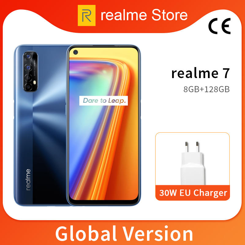 Realme 128GB WCDMA/LTE/GSM Nfc Adaptive Fast Charge Octa Core Fingerprint Recognition/face Recognition