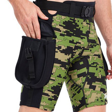 YONSUB Neoprene 2.5mm Diving Surfing Pants Men Submersible Pocket Shorts Technical Diving Shorts Camouflage Swimming Trunks