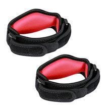1 x luva protetora almofada de compressão acessórios esportivos sem dor unisex tênis conforto antebraço cinta eva cotovelo cinta ajustável