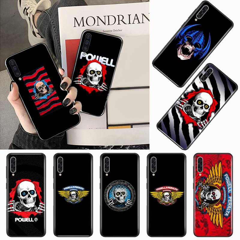 Powell Peralta Skateboard brand Phone Case For Samsung galaxy S 9 10 20  A 10 21 30 31 40 50 51 71 s note 20 j 4 2018 plus