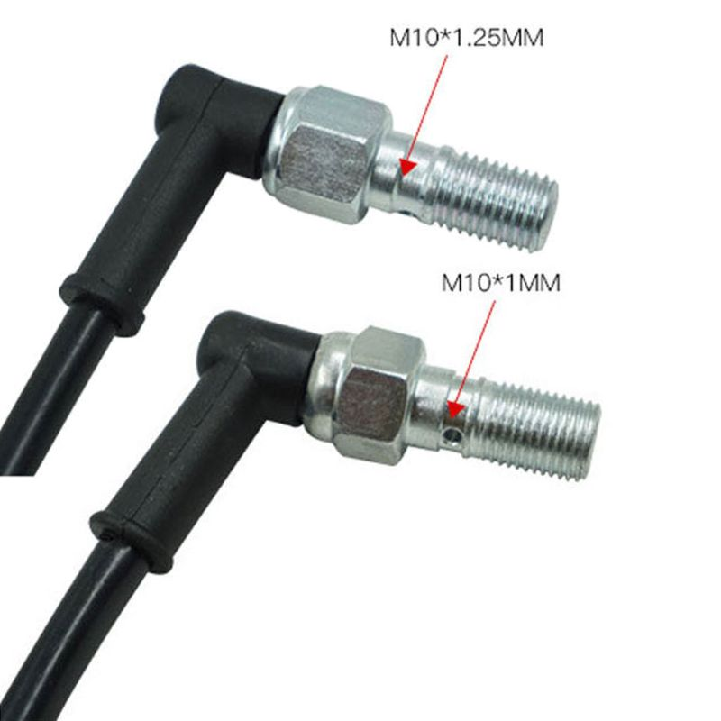 Universal Motorcycle Hydraulic Brake Pressure Rear Light Switch  Hollow Bolt Motocicleta Accessories