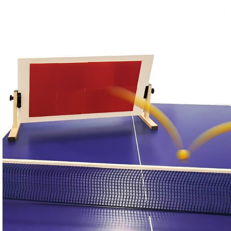 80x40 Cm Table Tennis Rebound Board Ping Pong Springback Machine Table Tennis Exerciser Self-study Pingpong Equipment F1031