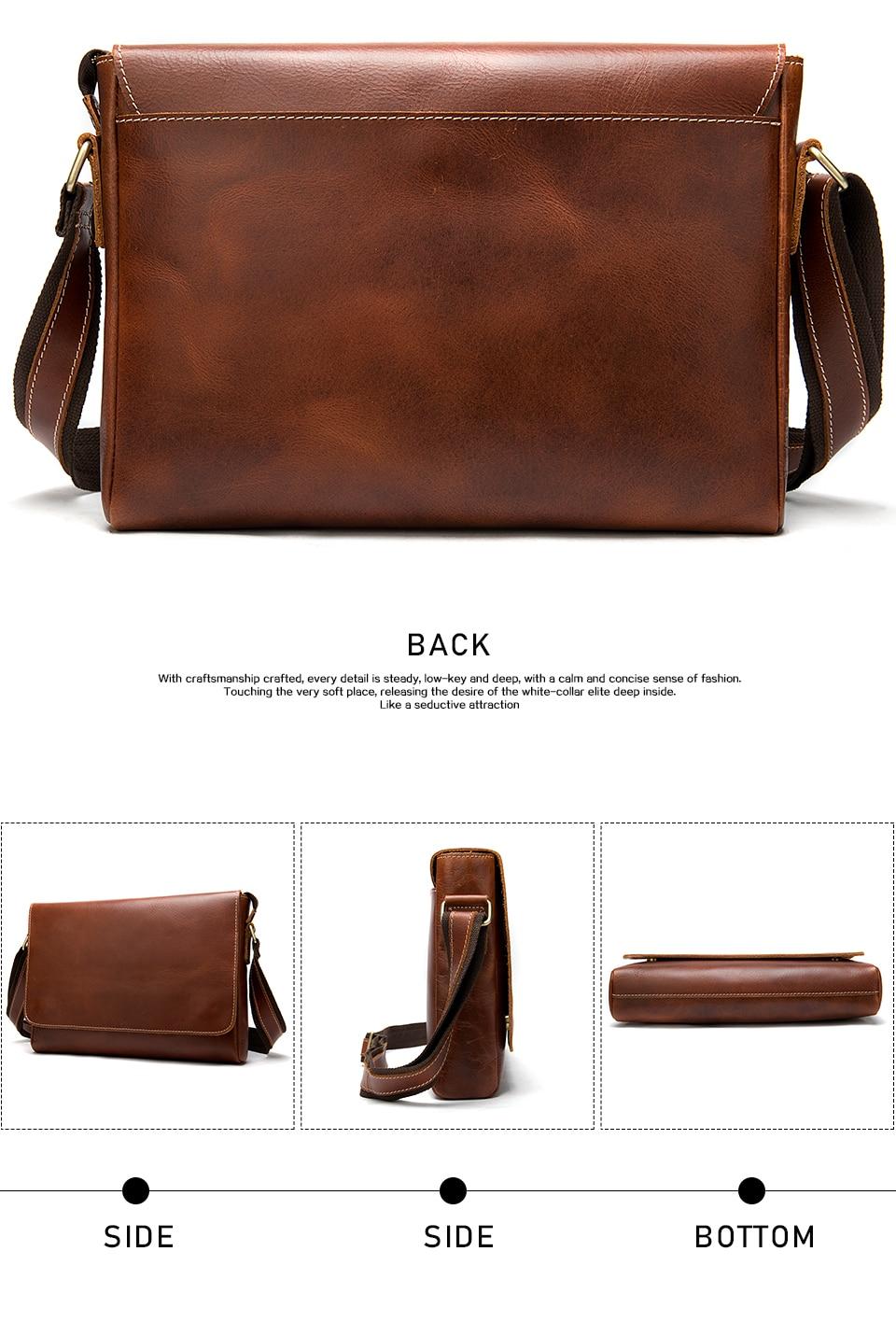 H0059e89e77da4397ace19ff730e05284P WESTAL Men's Briefcases Laptop Bag Leather Lawyer/office Bags Messenger Bags Men's Crazy Horse Leather Briefcases Business Bag