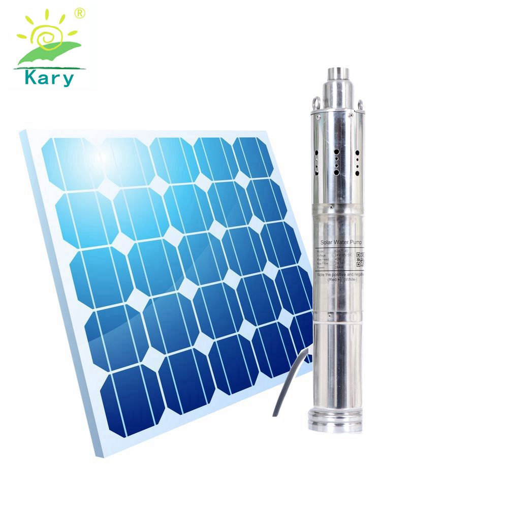 Kary <font><b>12v</b></font> 3000l/h 30m lift 1.28inch outlet dc solar <font><b>submersible</b></font> <font><b>pump</b></font> for swimming pool S123T-30 image