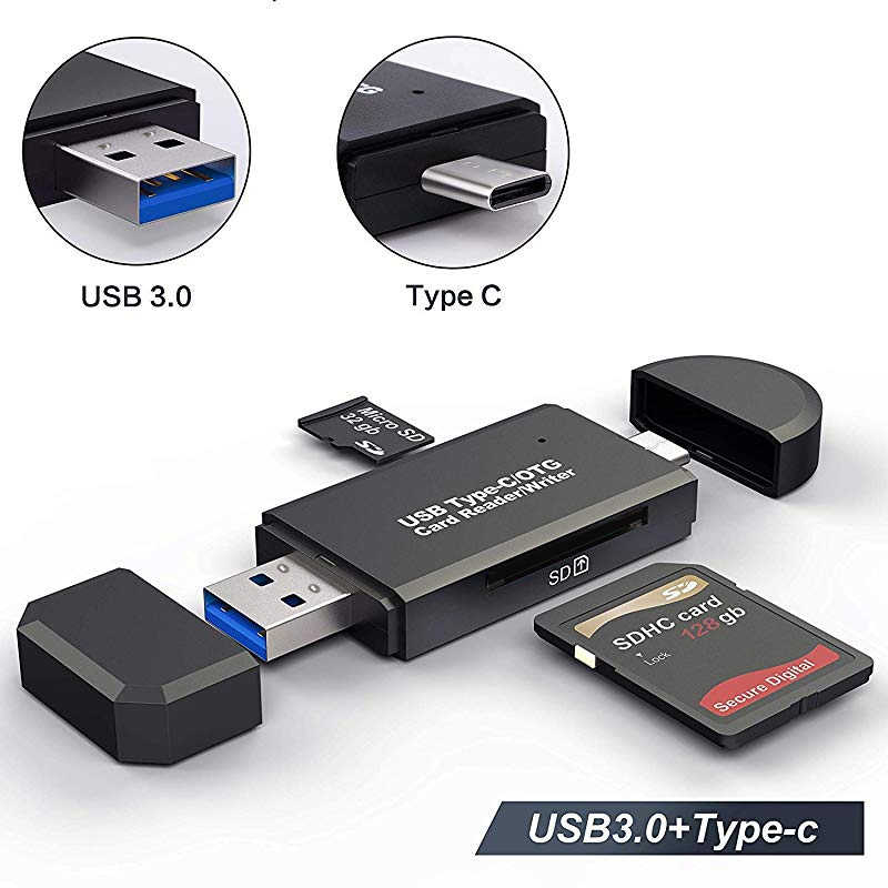 OTG Micro SD Card Reader USB 3.0 Card Reader 2.0 untuk USB Micro SD Adapter Flash Drive SMART Kartu Memori reader Tipe C Cardreader