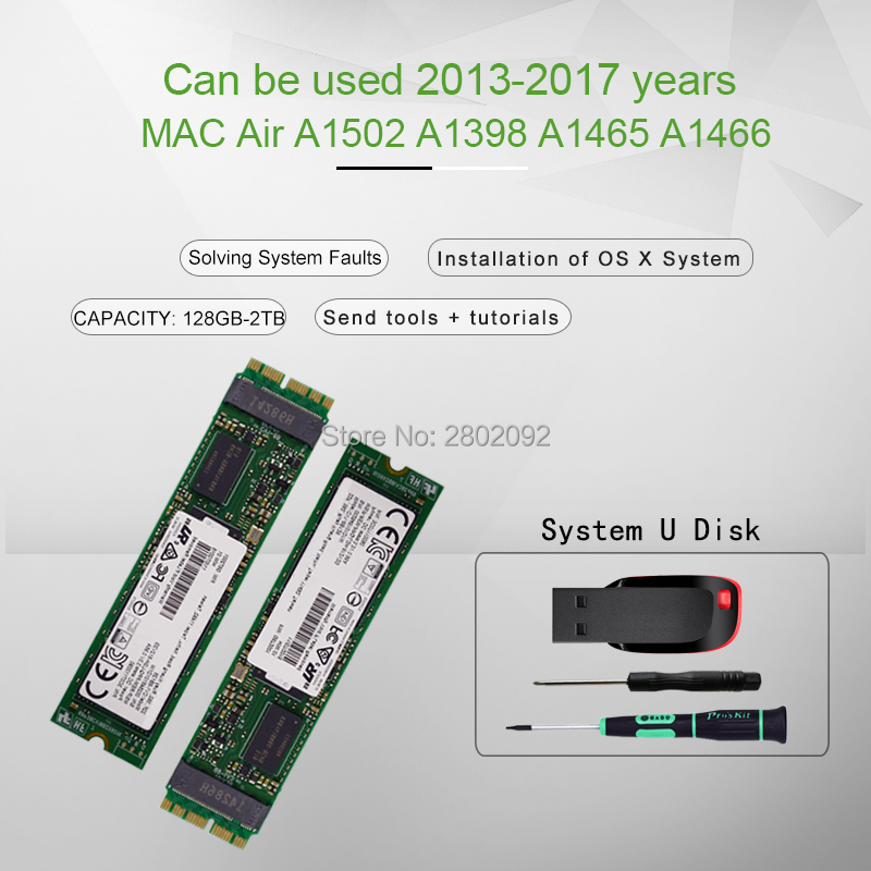 MACBOOK A1465 A1466 A1502 A1398 SSD ME864 ME865 ME866 MG72 MG82 MG92 MF839 MF840 MF841 SSD  HARD DISK DRIVE 512GB 1TB