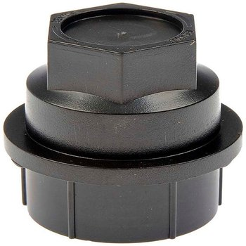 Single Car Universal Wheel Nut Cover - Black 15646250 image