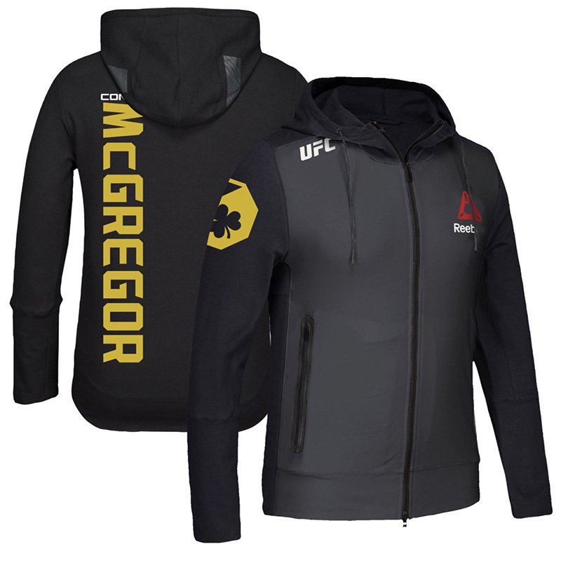 Hoodies Rashguard Jiu Jitsu Bjj Long-Sleeve Workout Mcgregor Sport Jacket Fitness Mma