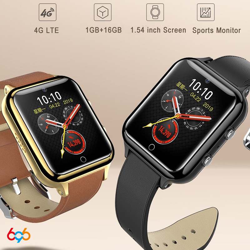 2019 M5 <font><b>smartwatch</b></font> Phone Qualcomm 210 MSM8909 <font><b>4G</b></font> LTE smart watch 1.54 inch IPS screen heart rate blood pressure health monitor M image