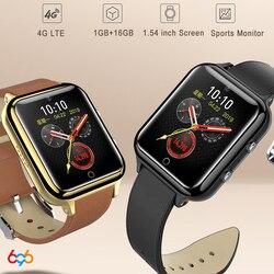 2019 M5 zegarek smartwatch z telefonem Qualcomm 210 MSM8909 4G LTE smart watch 1.54 cal IPS ekran tętno ciśnienie krwi monitor zdrowia M
