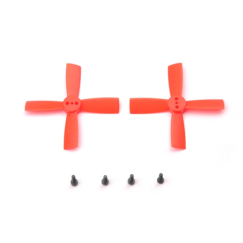 5Pairs <font><b>2035</b></font> 4 Blade <font><b>Propellers</b></font> ABS For Aurora 90 100 Mini FPV Racer RC Multicopter image