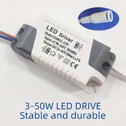 LED Driver 3W 6W 9W 12W 15W 18W 24W 25W 36W LED Power Supply Unit Lighting Transformers For LED Lights DIY Panel Lamp Driver DC