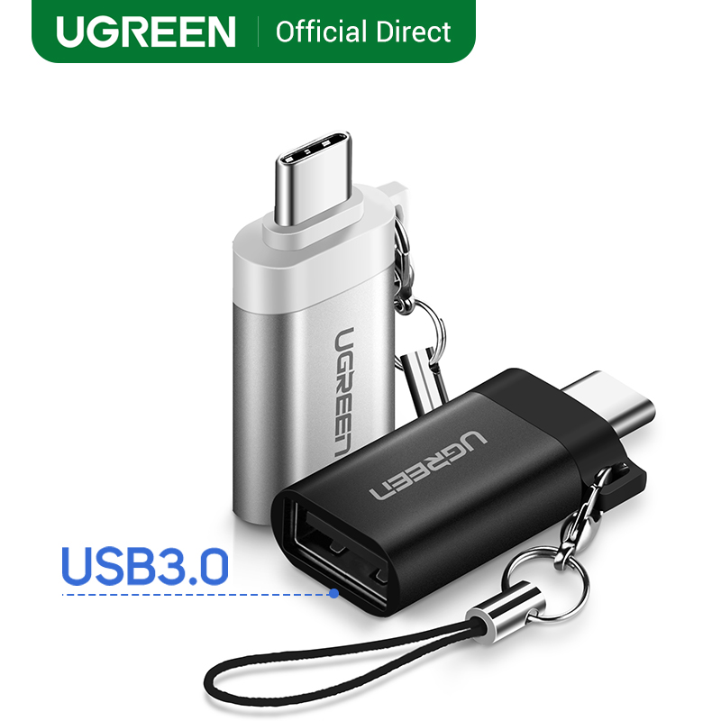 Ugreen USB Type-C OTG Adapter USB Type C To USB 3.0 Converters For Xiaomi Samsung Galaxy S10 One Plus USB C Adapter OTG Cable
