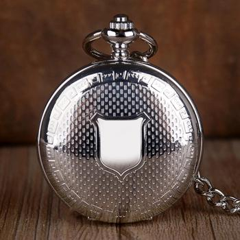 Luxury Shiled Design Pocket Watches Skeleton Dial Mechanical Hand Winding Pocket Watches For Men Women Gifts With Fob Chain
