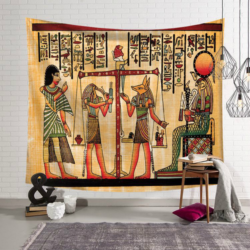 Egypt Series Tapestry Wall Hanging Home Decor Yoga Mat For Home Carpet Throw Rug Blanket Mandala Bohemian Wall Cloth Decoration in Tapestry from Home Garden