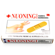 100 pçs/saco primeiros socorros bandagem calcanhar almofada adesivo emplastro cor aleatória bandaid curativos estéril hemostasis adesivo