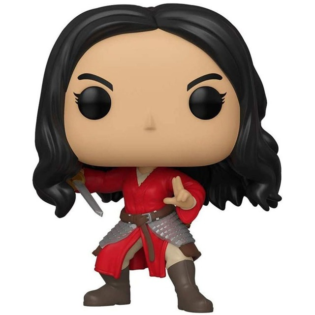 FUNKO POP Mulan #637 Movie Figure Collection Model Dolls 10cm Vinly Action Figure Toys for Kids Birthday Gifts 2