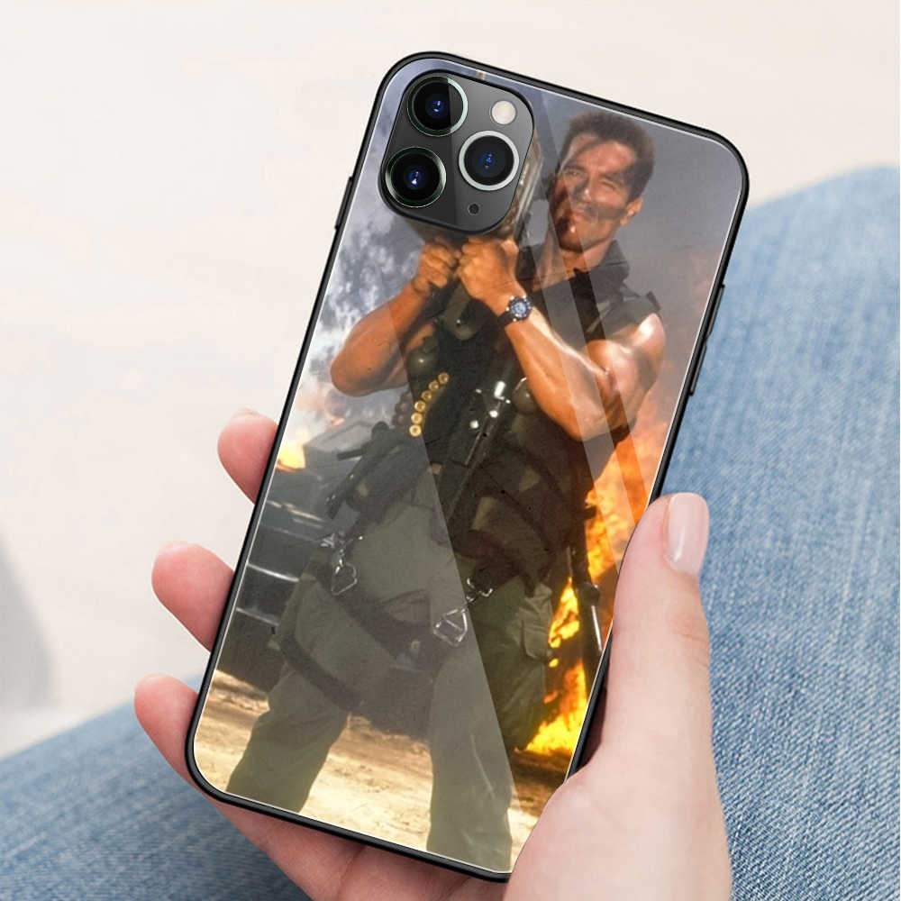 FinderCase for iphone 11 pro max case Arnold Schwarzenegger Glass Cover Case for iPhone 11 pro max