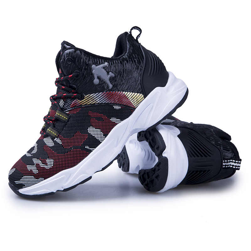 2019 High-Top JORDAN รองเท้าบาสเก็ตบอล CUSHIONING JORDAN รองเท้าเด็กรองเท้าผ้าใบกีฬารองเท้าการฝึกอบรมรองเท้า