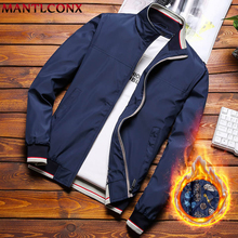 MANTLCONX  Plus Size 8XL New Winter Jacket Men Thicken Warm Loose Mens Coats Casual Zipper Outwear