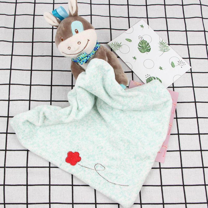 Crianças apaziguar toalha cobertor cobertor criança apaziguar