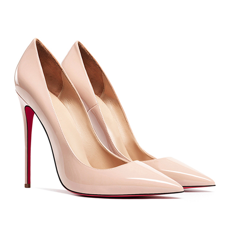 Women Shoes Pumps So Kate Pointed-Toe High-Heels Patent Leather Ladies 12CM 10cm New