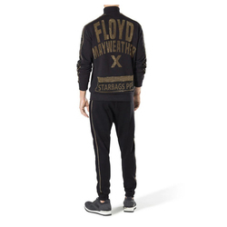 Starbags pp Original skull head brand autumn winter men's casual sports suit zipper color diamond fashion logo pants men's wear