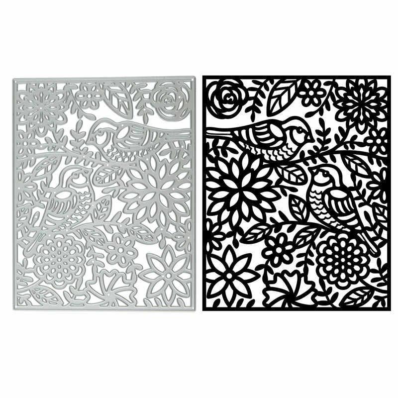 قوالب تقطيع معدنية على شكل إطار بيضاوي الحور العجيب الطيور لسكرابوكينغ جديد 2019 قطع للبطاقات لصنع البطاقات بغرز يدوية قوالب Troqueles