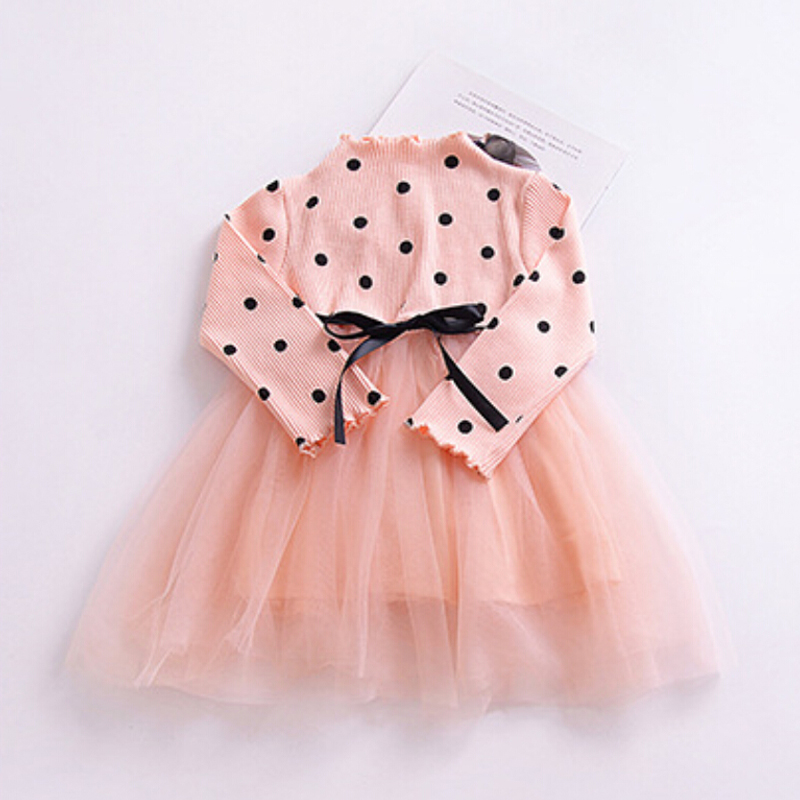 H005cc80bb8eb4f5986604fae7f250e00D Spring Autumn Long Sleeves Children Girl Clothes Casual School Dress for Girls mini Tutu Dress Kids Girl Party Wear Clothing