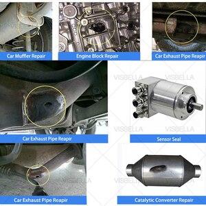 Image 4 - VISBELLA רכב פליטה מילוי פליטה צינור תיקון דבק איטום טמפרטורה גבוהה אוטומטי אופנוע מערכת צינור קולק תיקון להדביק 75g