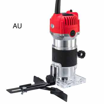 Multi-Function Woodworking Electric Trimmer Cutter Wood Milling Engraving Slotting Trimming Machine Router - DISCOUNT ITEM  24 OFF Tools