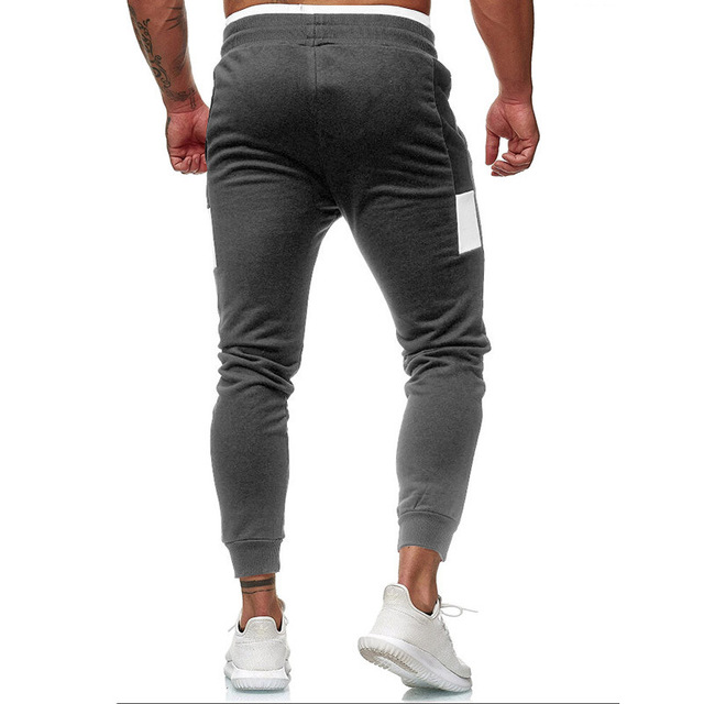 Men's Fitness Training Large Size Sports Warm Pants  2