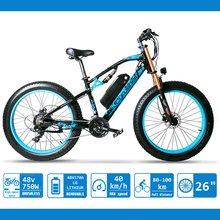 Electric Dire Bikes For Men  Snow Mountain E-bike 48V 17Ah battery  Fat Bike Electric Bicycle Motorcycle Style XF900