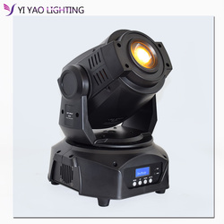Lyre 90w 7 colores + 8 gobos Led Spot DMX 512 16CH cabeza móvil luces de escenario enfoque 3 facetas prisma efecto Lightings