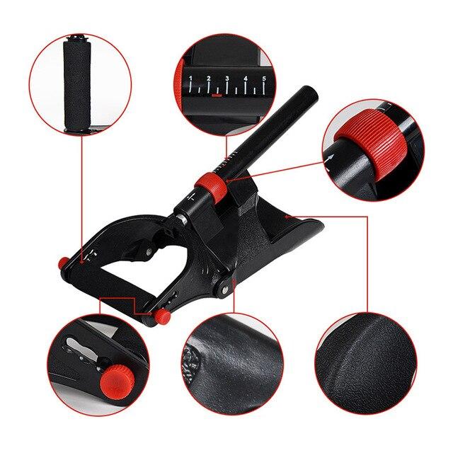 T Adjustable Power Hand Grip Arm Trainer Adjustable Forearm Hand Wrist Exercises Trainer Strengthener Grip Bodybuilding Fitness 4