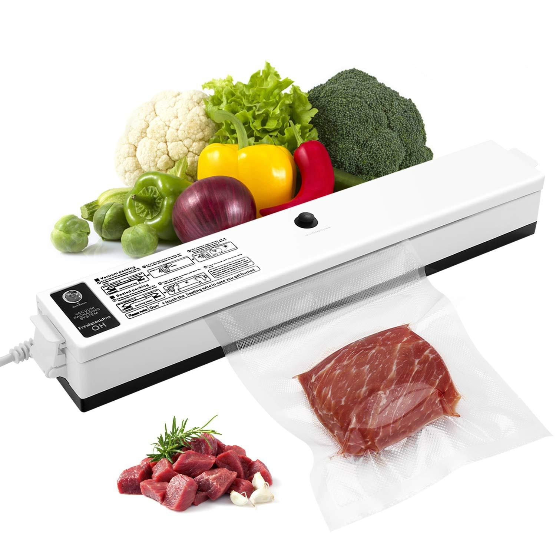 Electric Vacuum Sealer Packaging Machine For Home Kitchen Including 10pcs Food Saver Bags Vacuum Food Sealing 110V/220V