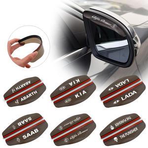 Eyebrow-Cover Car-Rearview-Mirror Rain-Blade Lada Opel Rainproof Kia Renault for Black