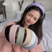 Универсальная Вязаная Шерстяная головная повязка Корейская версия