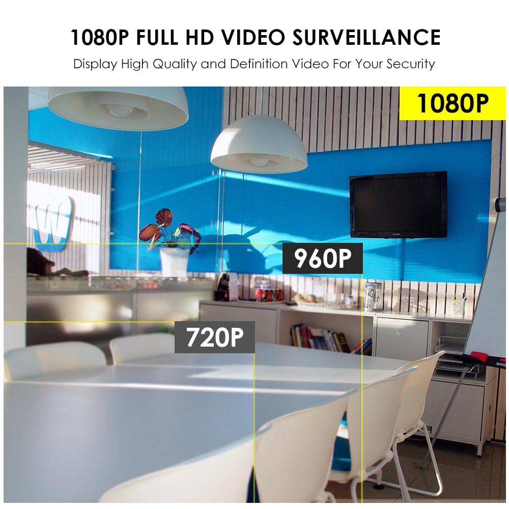 ZOSI H.264 8CH 1080P poe nvr zestaw system cctv 4 sztuk bezpieczeństwo zewnętrzne, że PoE kamera IP IP67 wodoodporna P2P Onvif system nadzoru