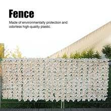 Clôture de confidentialité en rouleau de feuilles artificielles, écran de balcon privé, aménagement paysager mural, Garde d'extérieur