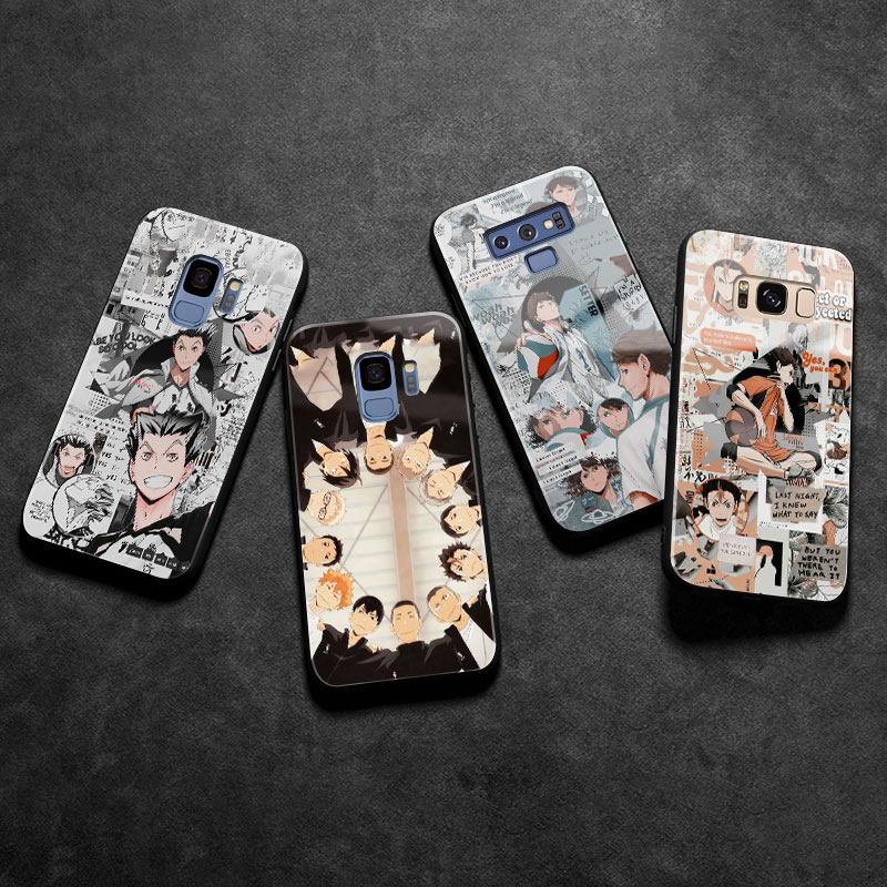 Haikyu 4 To the Top cover shell For <font><b>Samsung</b></font> galaxy s8 s9 <font><b>s10e</b></font> s10 s20 s20Ultra note 8 9 10 plus soft silicone glass phone <font><b>case</b></font> image