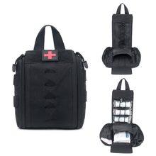 First Aid Kit for Medicines Outdoor Camping Hunting Medical Bag Molle EDC Survival Handbag Emergency Kits Travel Set Portable
