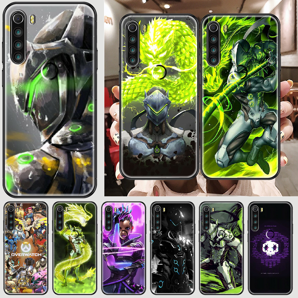 Game Overwatchs Phone case For Xiaomi Redmi Note 7 7A 8 8T 9 9A 9S K30 Pro Ultra black trend cover art coque fashion shell