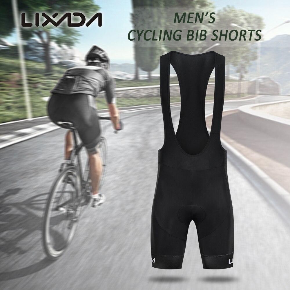 Lixada Cycling Shorts 3D Padded MTB Bicycle Bike Shorts Breathable Quick Dry Shorts