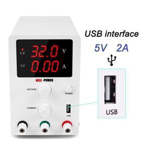 Image 3 - 30v 10a Labor Netzteil Digitale Display Einstellbar Schalt DC Power Supply Voltage Regulator 220 v 110v Neue eingetroffen