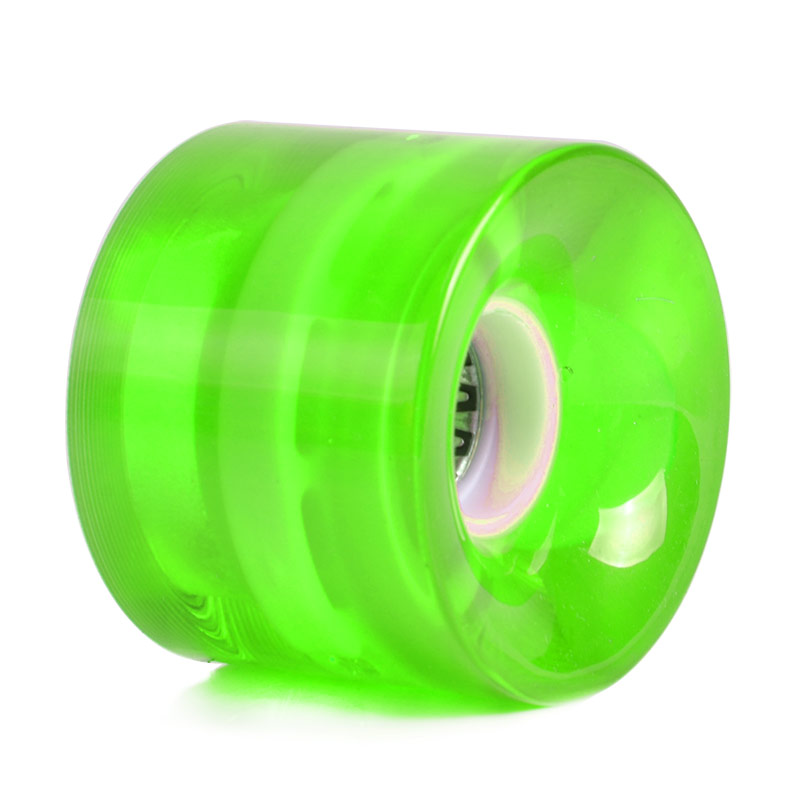 LED Flash Cruiser Skateboard PU Wheel For Street Skate Longboard Banana Board