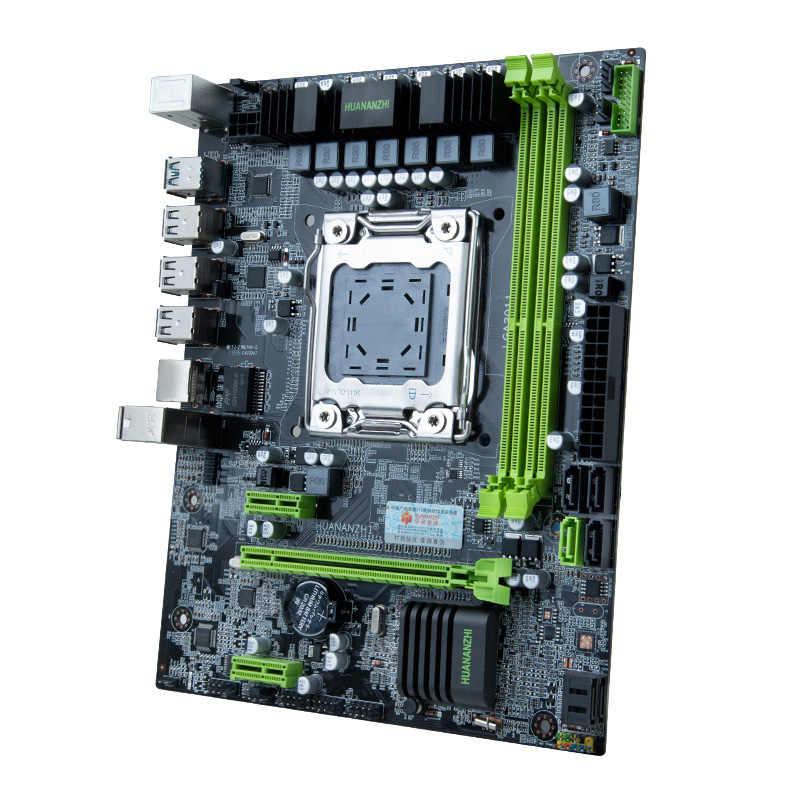 HUANANZHI X79 اللوحة الأم وحدة المعالجة المركزية مجموعة الذاكرة X79 LGA2011 اللوحة إنتل سيون E5 2620 V2 RAM 2*8G DDR3 REG ECC