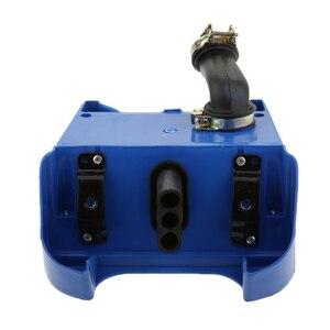 Image 4 - 야마하 PEEWEE PW80 PW 80 핏 먼지 자전거 용 블루 에어 박스 필터 어셈블리