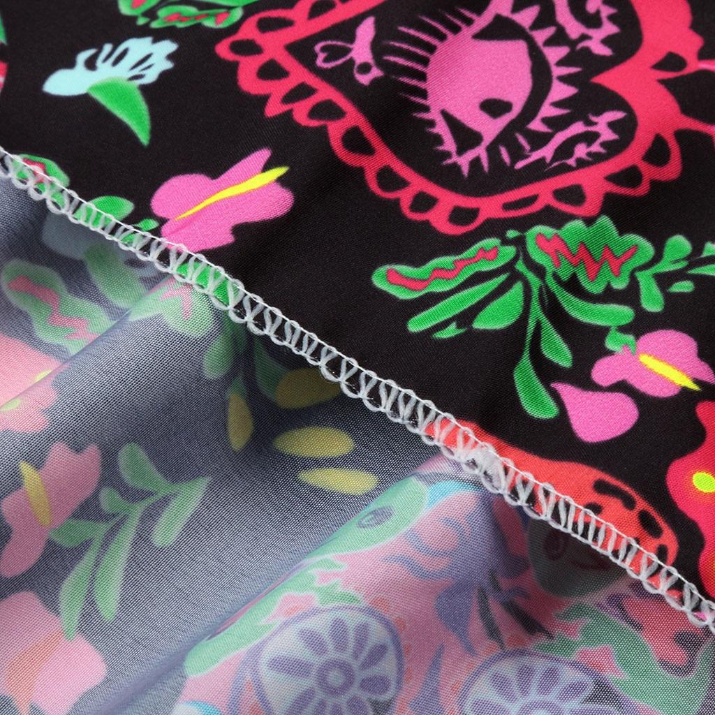 H005ea5d5bdd54db9ac160bdb4d4f6fceq Spring Autumn Women Dress Plus Size 5XL Loose Print Long Sleeve V-Collar Button Party Dresses Casual Loose Women Dresses 2019