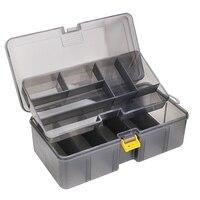 Doppel Schicht Speicher Verdicken Container Fach Wasserdicht Angeln Tackle Box Köder Zubehör Multifunktions Hohe Festigkeit|Angelkisten|   -